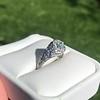1.11ct Old European Cut Diamond Filigree Ring 32