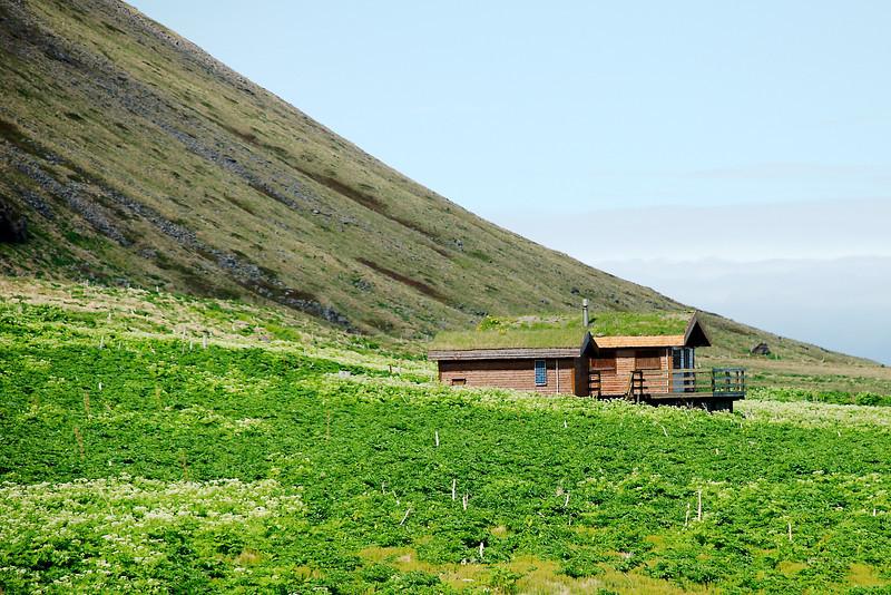 Aðalvík - Sæból. Fjósatunga 2013.