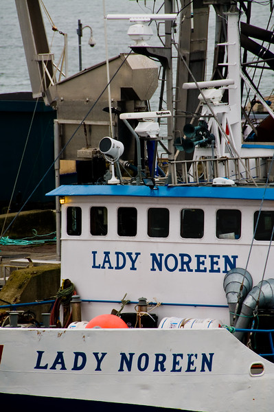 Close-up of the Lady Noreen.