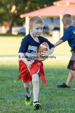 9/1 - Kindergarten - Giants vs Falcons