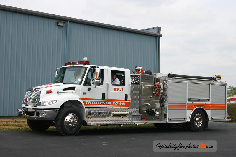 Thompsontown Engine 82-1: 2005 International/Crimson 1250/1000
