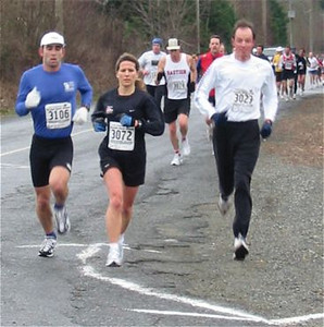 2003 Cedar 12K - Helena Watling Leads a Pack