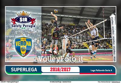 12ª ritorno #SuperLega «Sir Safety Conad Perugia - Calzedonia Verona»
