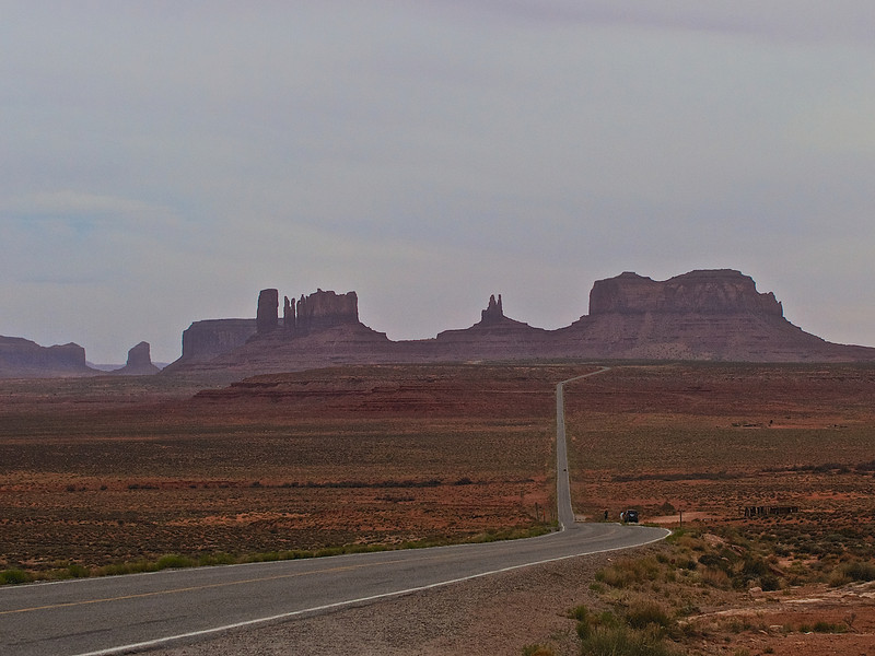 Scenes from Monument Valley, the Navajo Reservation