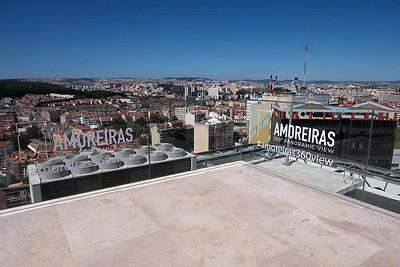 Atop the Amoreiras Shopping Center,  Lisbon