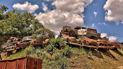 Rusty, Cool Classic Vehicles