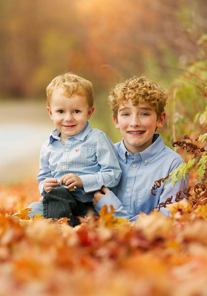 Chris and Family Fall 2020