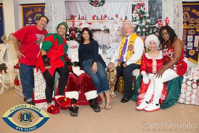 Florida Lyons Eye Clinic Breakfast with Santa