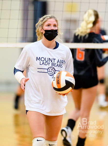North Davidson vs Mount Airy Volleyball
