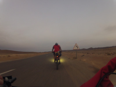 The Journey Across the Sahara