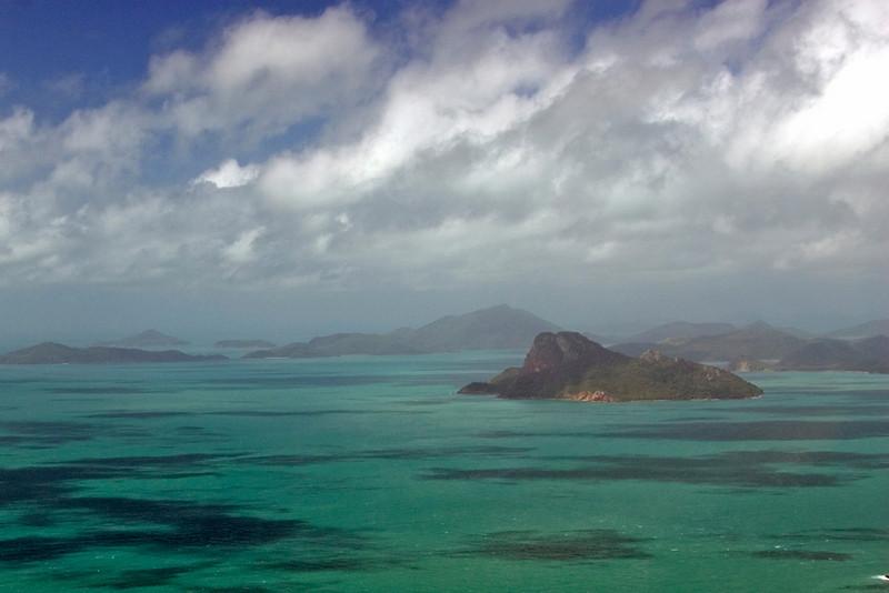 Aerial 3, WhitSunday Islands - Queensland, Australia