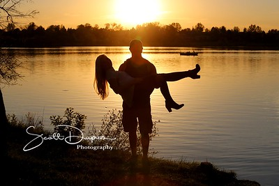 Various engagement pictures
