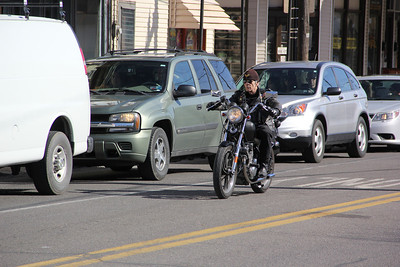 Watch Out For Bikers, Motorcycles Story, Five Points, Tamaqua (3-30-2013)