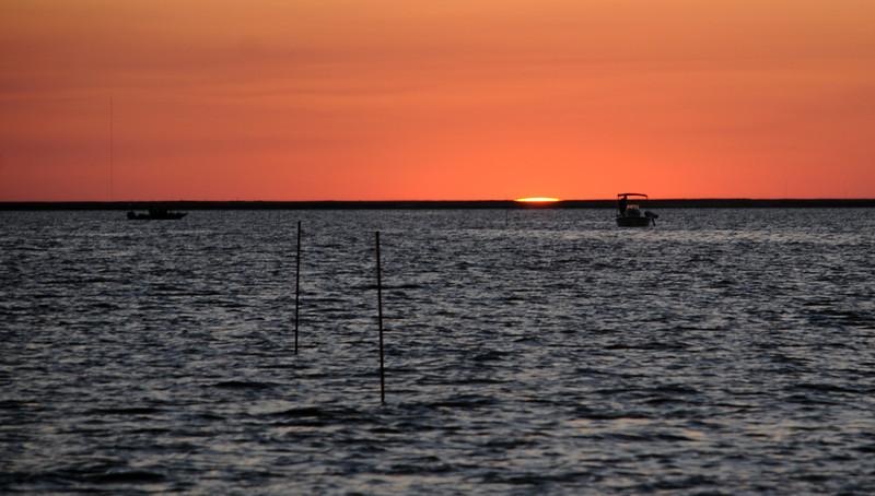 BAY SUNSET SHRIMPIN.jpg