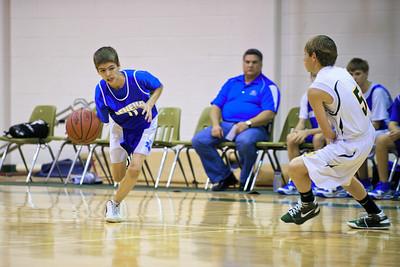 7th/8th Grade Basketball vs. St. Luke's-January 21, 2010