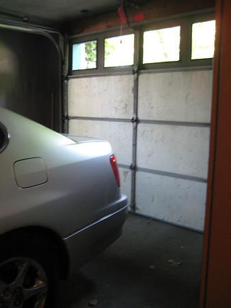 "The ""One car"" garage"