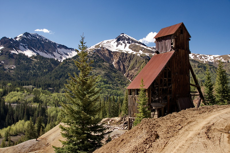 Colorado, Ouray, Red Mountain Mining District, Yankee Girl Mine