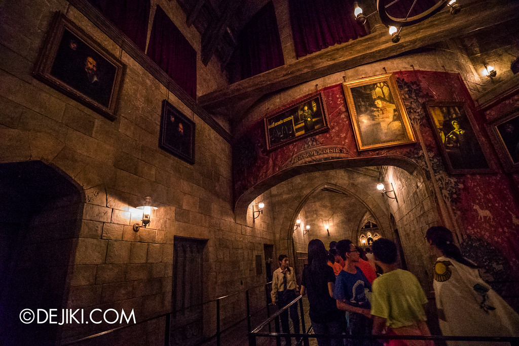 Universal Studios Japan - Harry Potter and the Forbidden Journey / Hogwarts Castle Walk Tour - Gryffindor Common Room 3