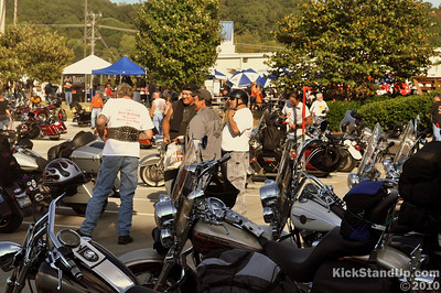 9.17.2010 Trail of Tears Kick Off Party at Thunder Creek H-D by rocky