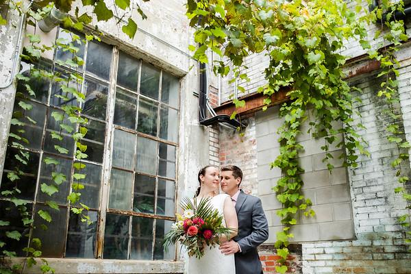 Ashleigh + Aaron: Wedding