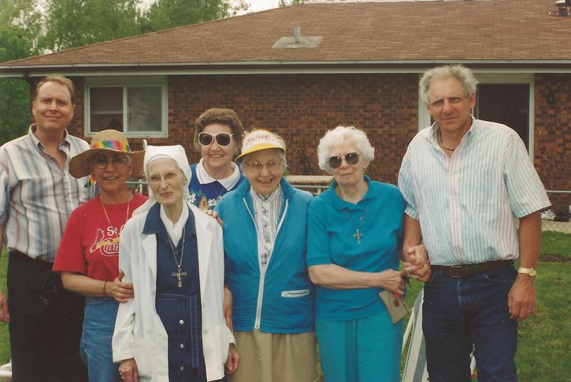 Sisters and Pastor Vanderkloot