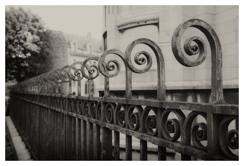 Fence at Sacre Coeur