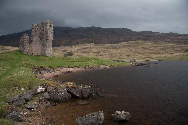 Ardvrek Castle, Schottland