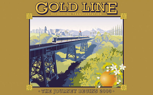 2003, Refreshing Gold Line