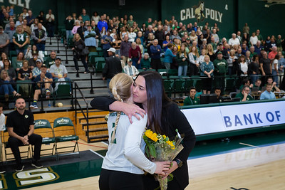 2019 Cal Poly Volleyball vs Fullerton