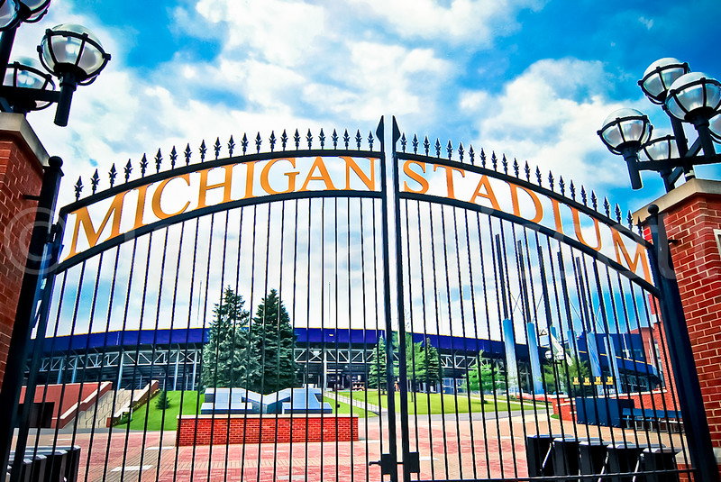 michigan stadium u of m blue ann arbor etsy gate (1 of 1).jpg