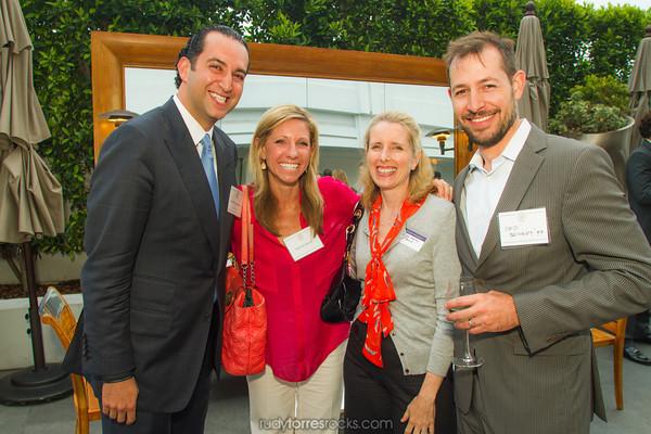 LA Entrepreneurship Panel Presented by the Georgetown Alumni Club of Los Angeles  at SLS 6.19.2014