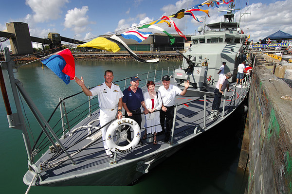 HMAS Townsville comes home