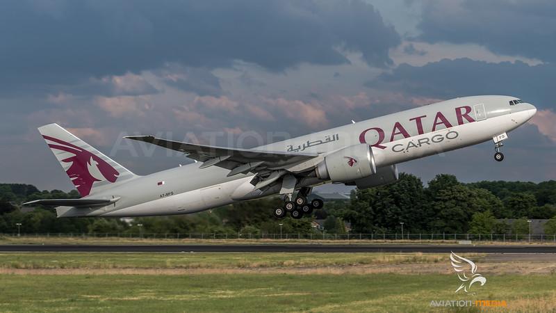 Qatar Airways Cargo / Boeing B777-F / A7-BFQ