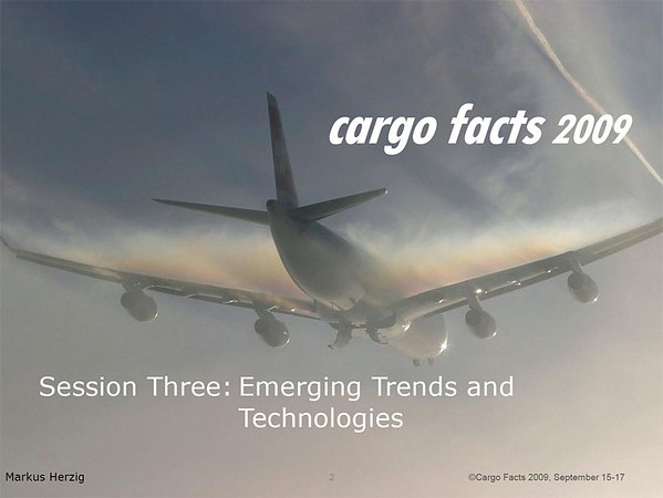 Cargo Facts - Symposium at Seattle Sep 2009