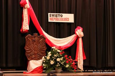 2011 Uroczystość z okazji 93 rocznicy odzyskania przez Polskę niepodległości