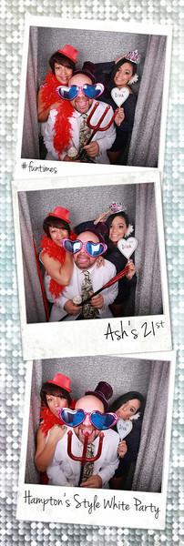 Ashleigh's 21st Hampton's Party Photobooth Prints