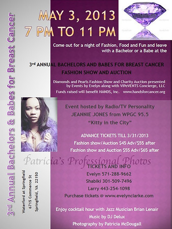 3rd Annual Bachelors & Babes for Breast Cancer - Fashion Show and Auction