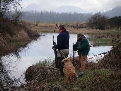 Northshore Chapter of Trout Unlimited Tree Planting at Barr Creek on March 11 2006