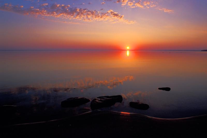 Cold Lake Sunrise #2