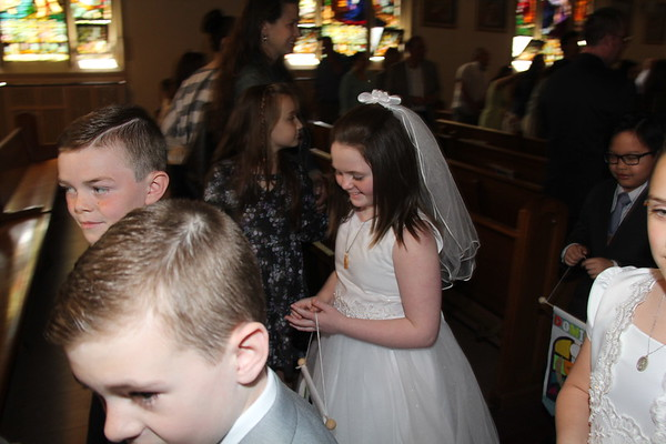 Leah's Communion Photos