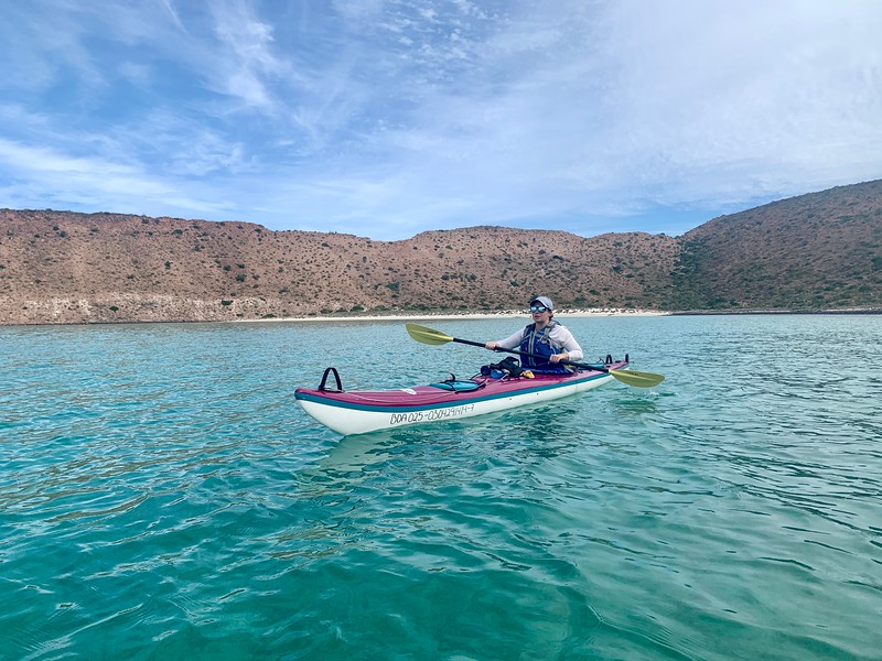 Lina Stock of Divergent Travelers  kayaking in Mexico