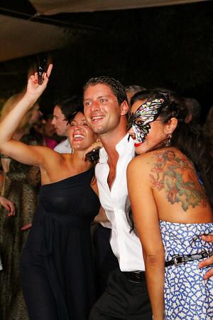 Melina and Tom's wedding