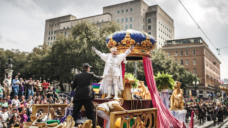Krewe of Okeanos 2018 - A Day with the King