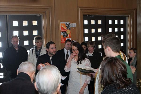 Avalon Marie Paulson - Baptism Dec. 27, 2014