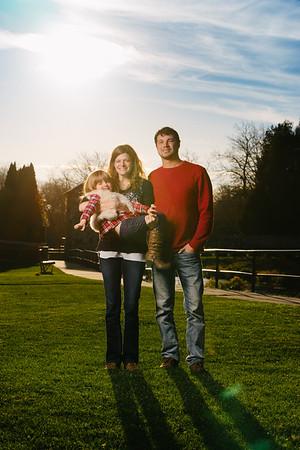 Nikki + Wes Family Portraits