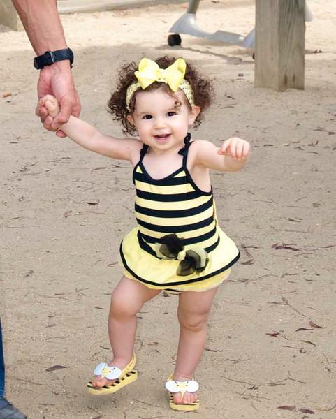 Natalia's 1st Bee-Day