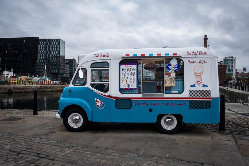 Mister Softee Commer Carrier Ice Cream Van