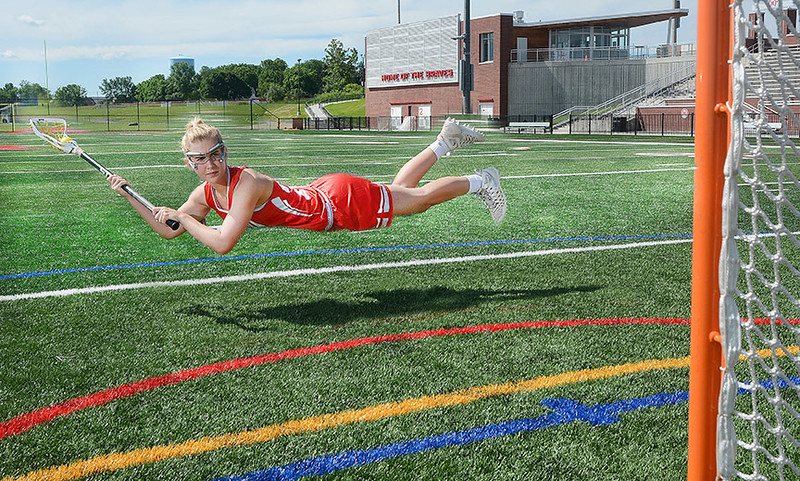 [Jack Haley/Messenger Post Media] Peyton Smith, of Canandaigua is the Daily Messenger''s Player of the Year in Girls Lacrosse.