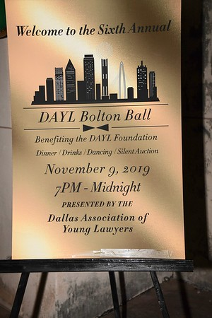 11-9-2019 DAYL Bolton Ball @ The Hall of State - Fair Park