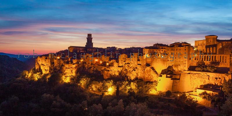 Little Jerusalem , Pitigliano , Tuscany